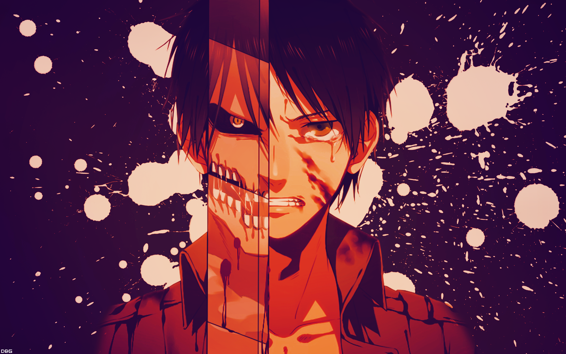 Shingeki No Kyojin Eren Wallpaper by DeathB00K on DeviantArt