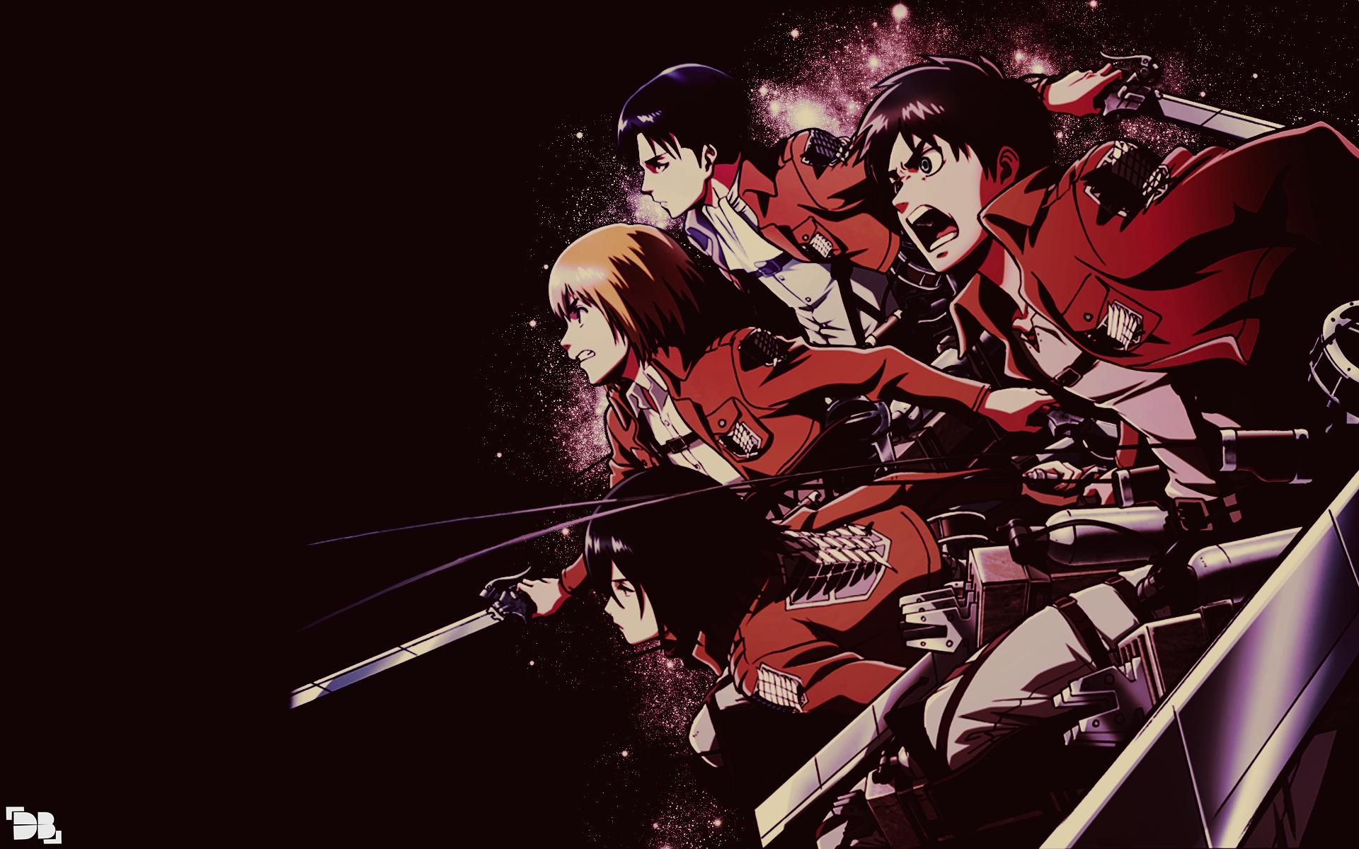Shingeki no Kyojin Wallpaper 3 by DeathB00K on DeviantArt
