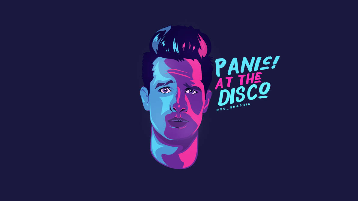 panic  at the disco wallpaper by deathb00k ddro1wt