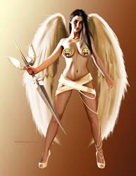 Goddess Of Angels by wakamite