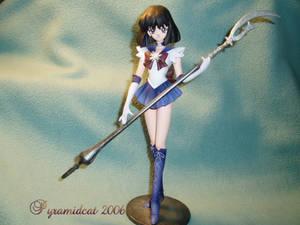 Sailor Saturn resin model