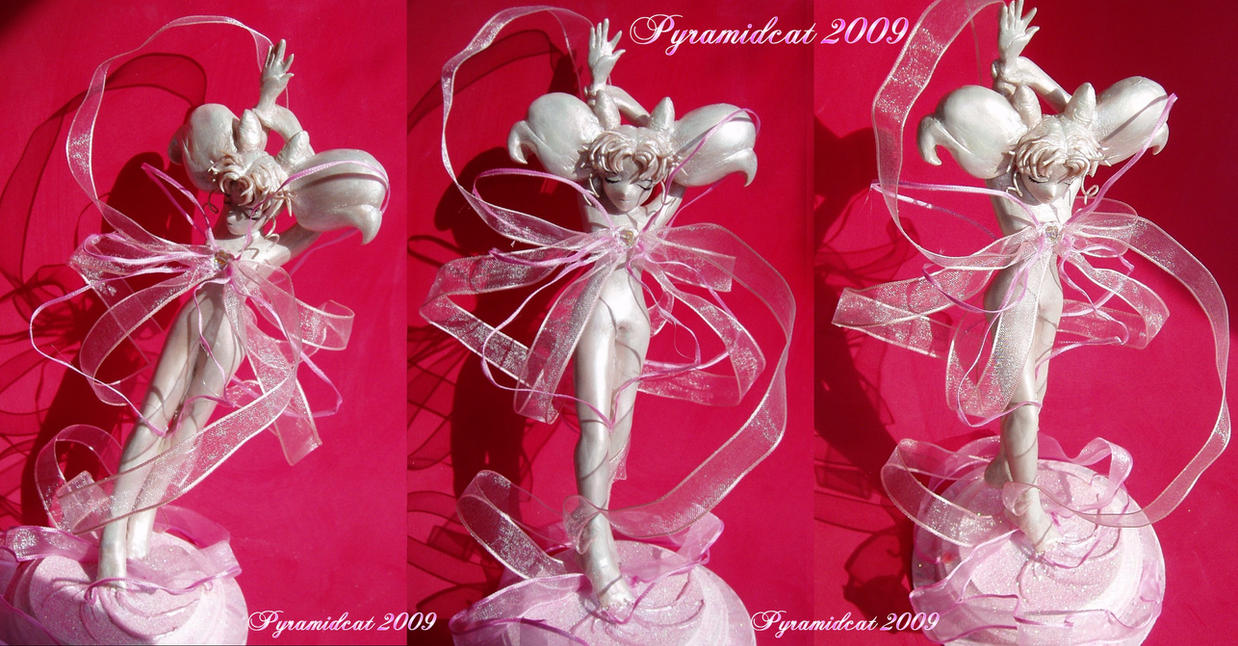 Chibiusa Henshin Sculpture 1 by Pyramidcat on DeviantArt