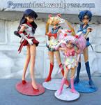 Sailor Moon Musasiya resin garage kit group