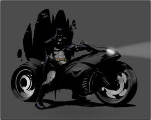 Batman by Greg Capullo, Coloured by TheGamingSpark