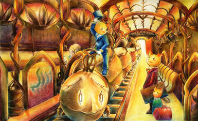Journey -January- by muhoho-seijin