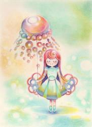 Jellyfish and I by muhoho-seijin