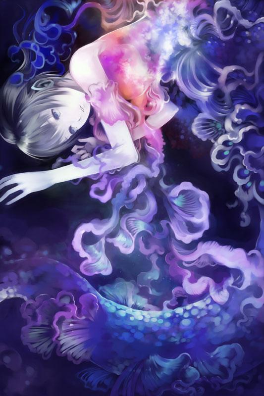 Deep Moon by muhoho-seijin