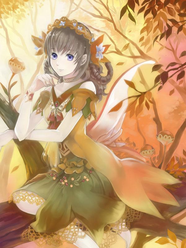 Autumn Fairy by muhoho-seijin
