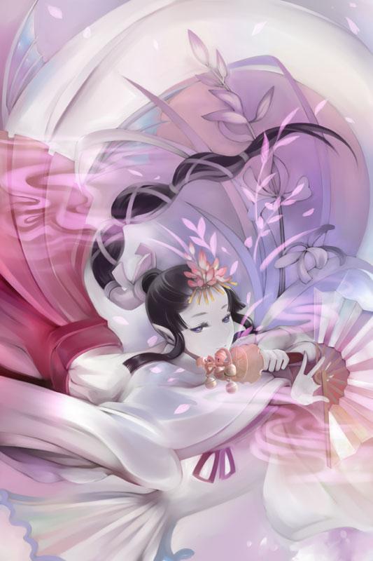 MikoMermaid by muhoho-seijin