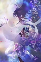 Petal Dance by muhoho-seijin