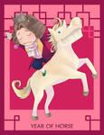 Year of Horse by muhoho-seijin