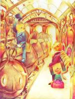 Departure by muhoho-seijin