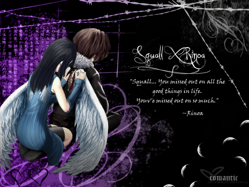 Squall And Rinoa Wallpaper Squall And Rinoa by