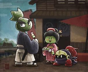 Samurai Neo by aru0