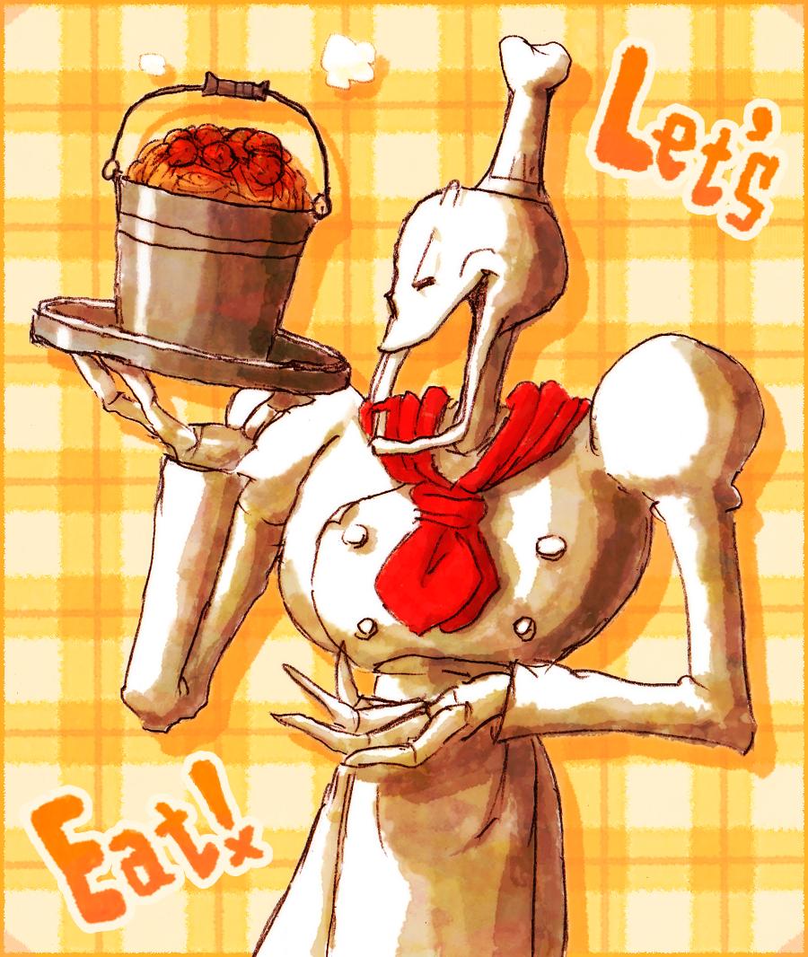 Meatball spaghetti by aru0