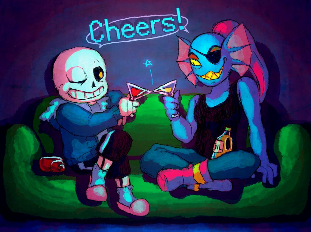 Cheers! by aru0