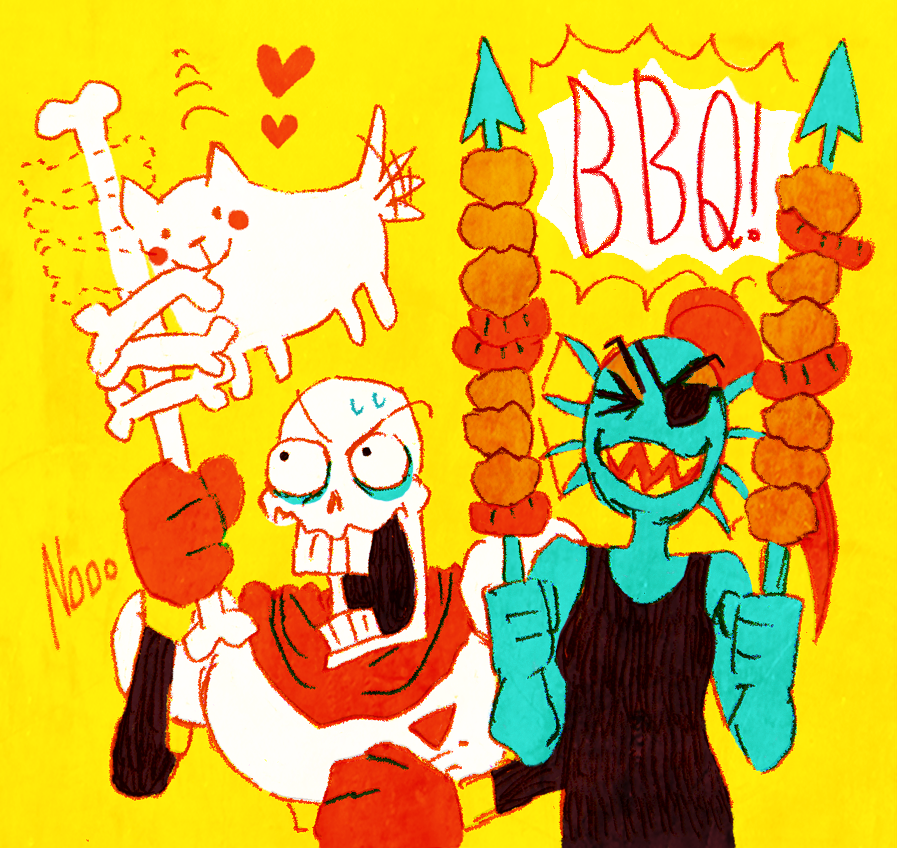 Barbecue by aru0