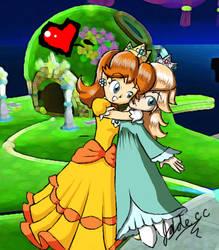 Daisy lurves Rosalina by jadecc