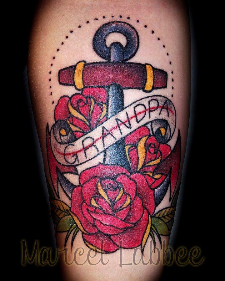 best oldschool tattoo in edmonton bombshell by ForTattoo School Edmonton