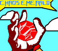 chaos emerald the red 1 by supersonicartdrawer