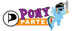 Pony partei / Pony party / parti poney by yellow-submarine7