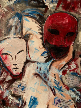 The masks that consume us