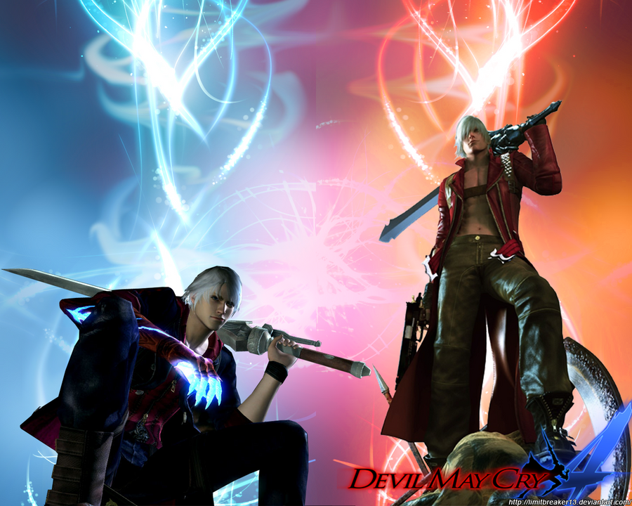 Devil may cry 4 nero and dante wallpaper by limitbreaker13 on devil may cry 4 nero and dante wallpaper by limitbreaker13 voltagebd Images