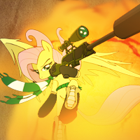 [Request] Fluttershy Sniper - Avatar by LimitBreaker13