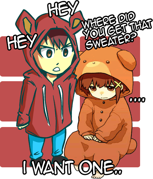 I want one - Beary Cool Sweater by JayiArts