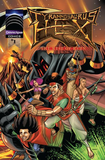 Tyrannosaurus Hex: ROR #1 Cover by RIVOLUTION
