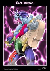 Lord Raptor by RIVOLUTION