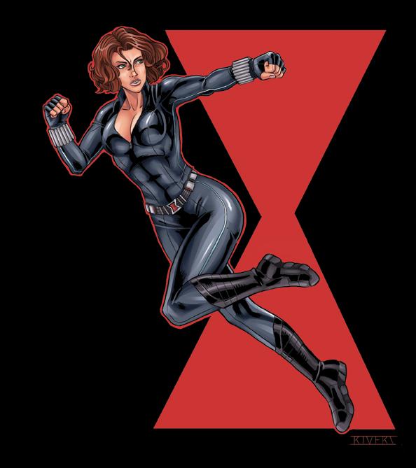 Black Widow by RIVOLUTION