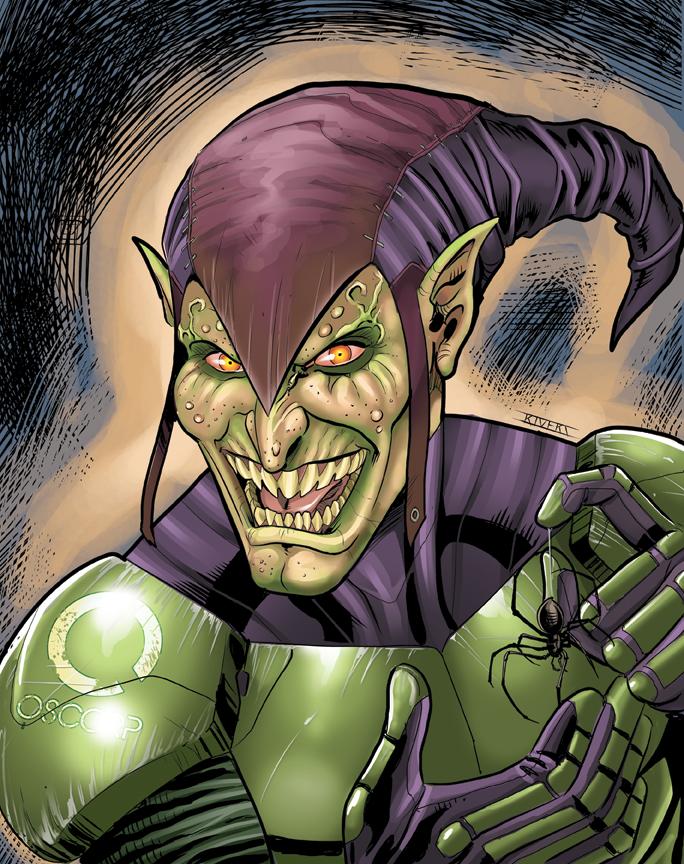 Green Goblin by RIVOLUTION
