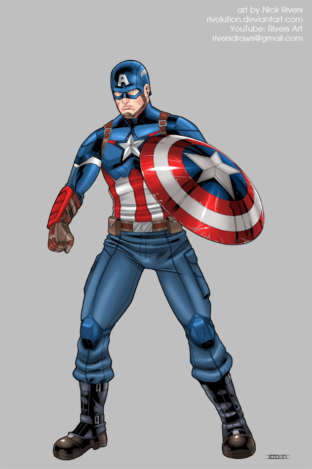 Captain America by RIVOLUTION