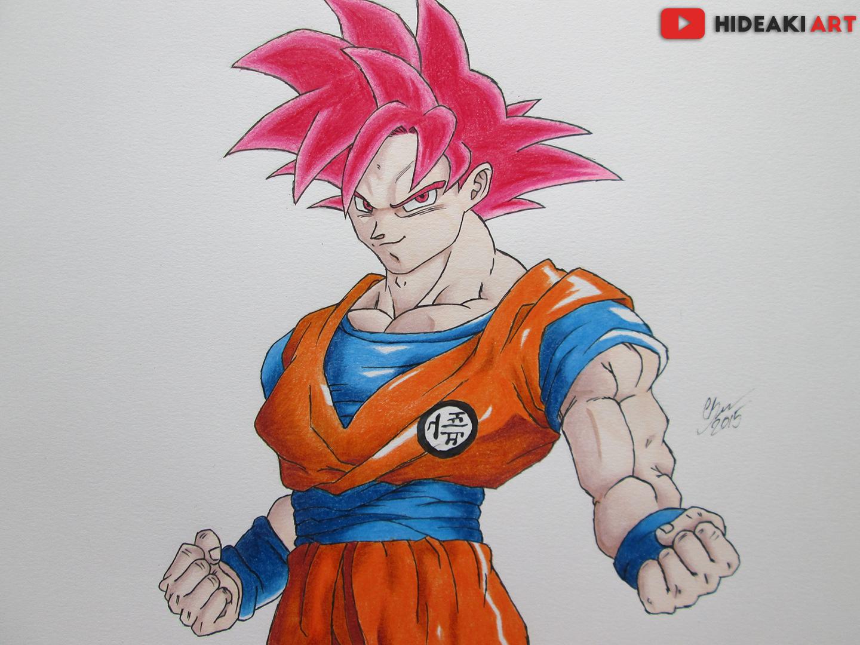 SSJ God Goku (Dragon Ball Z: Battle of Gods) by ...