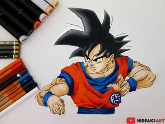Goku    Dragon Ball Super by HideakiArtReal