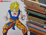 SSJ Goku    Dragon Ball Z