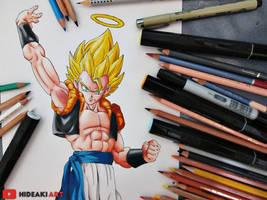 SSJ Gogeta || Dragon Ball Z: Fusion Reborn by HideakiArtReal