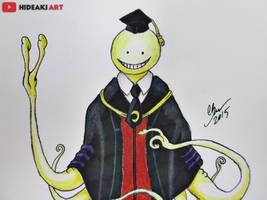 Koro-sensei || Assassination Classroom by HideakiArtReal