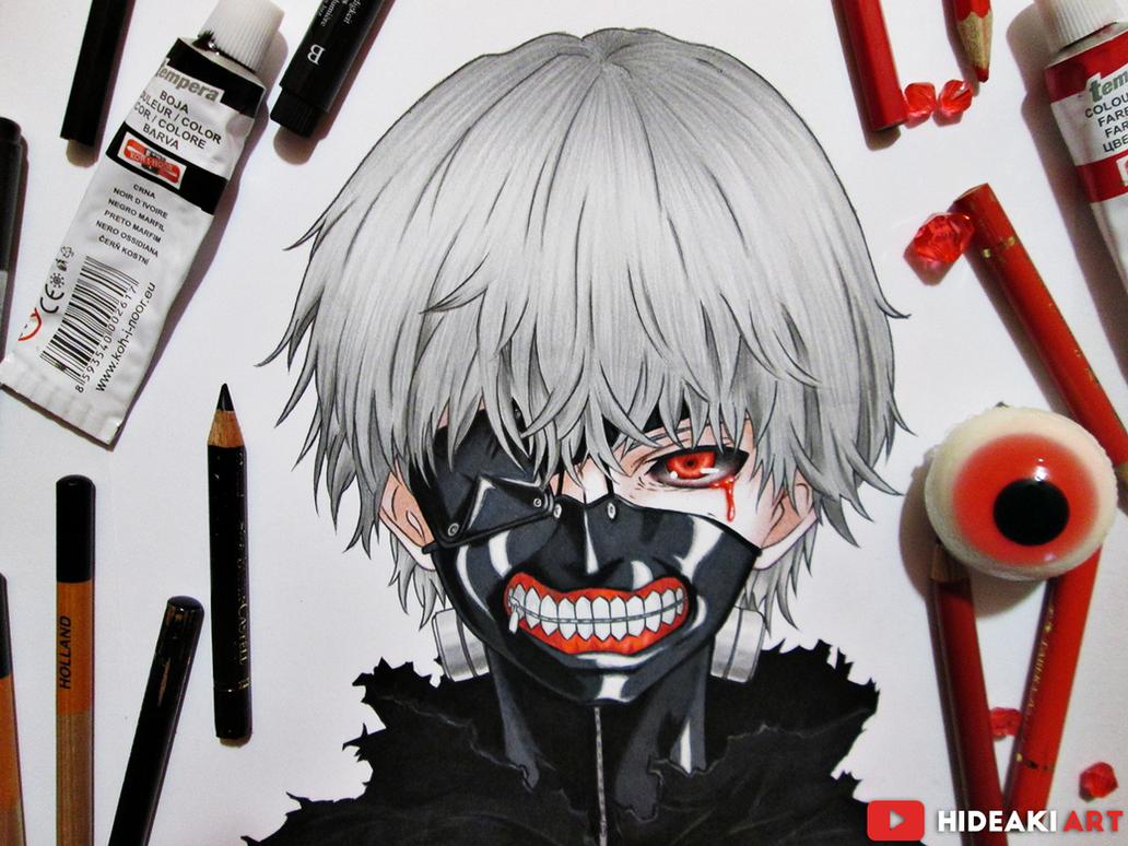Kaneki Ken || Tokyo Ghoul by HideakiArtReal