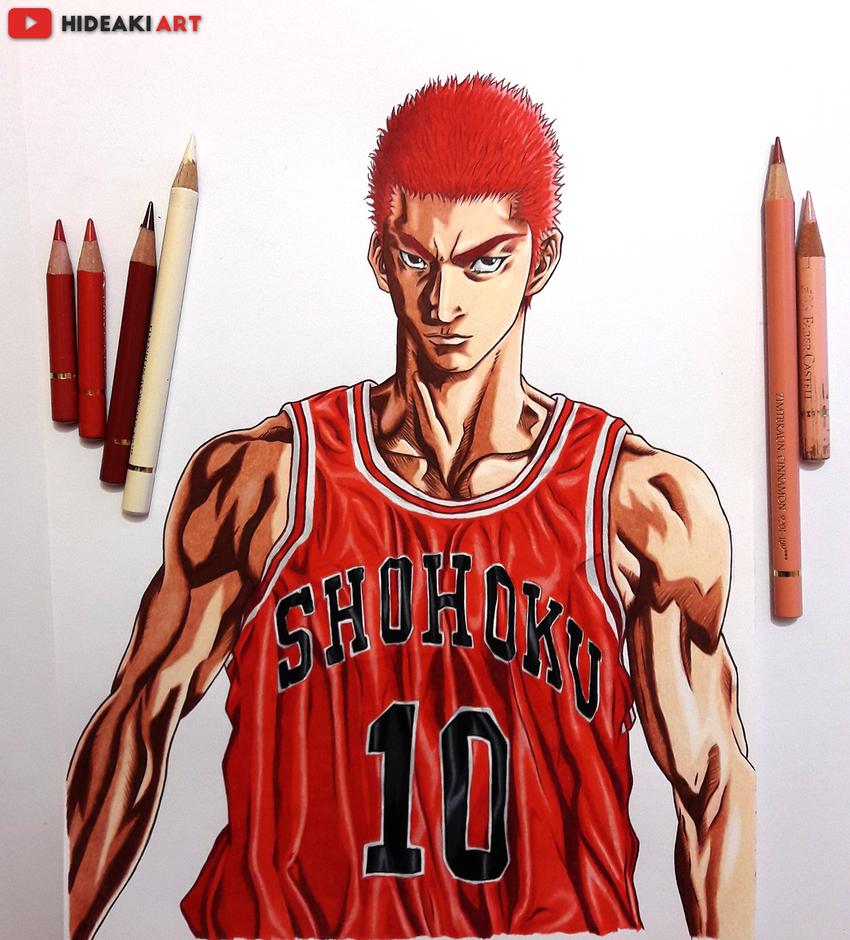 Slam Dunk By HideakiArtReal On