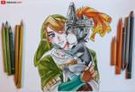 Link and Midna || Legend of Zelda