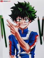 Izuku Deku Midoriya || My Hero Academia by HideakiArtReal