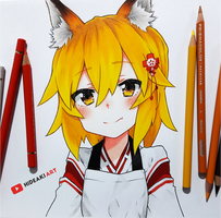 Senko-san || Sewayaki Kitsune no Senko-san by HideakiArtReal