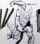 Garou || One Punch Man by HideakiArtReal