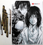 Eren and Mikasa || Attack on Titan
