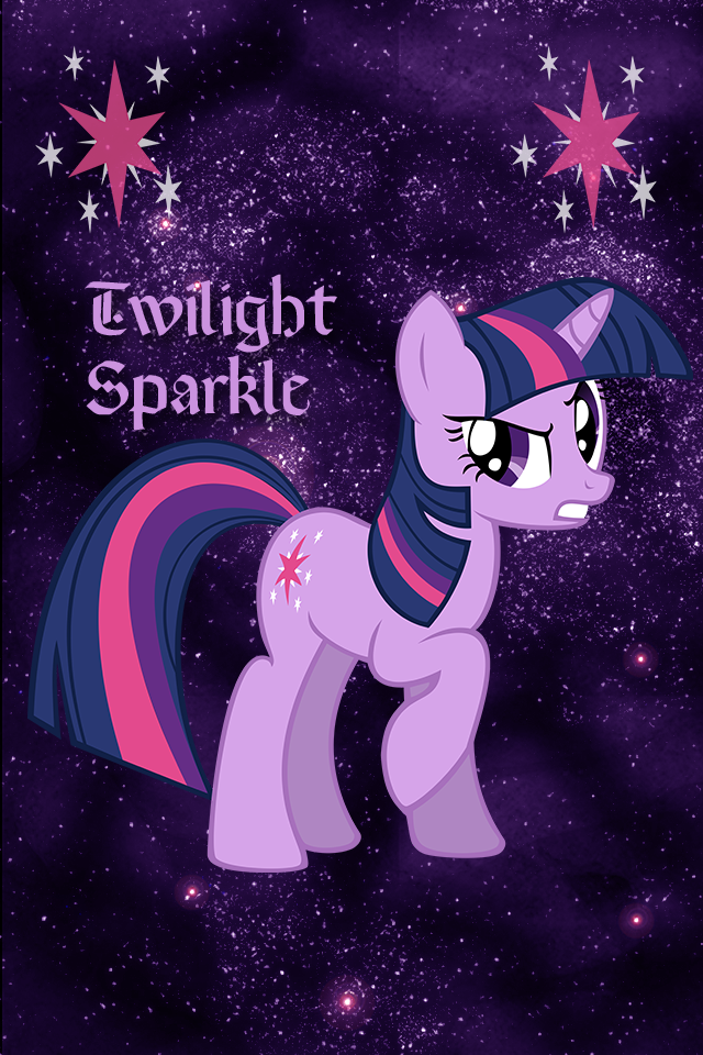 Twilight Sparkle Iphone WP By TecknoJock