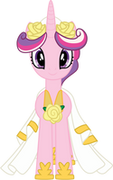 Princess Cadence Wedding Gown by TecknoJock