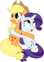 Terrified Hug by TecknoJock