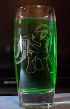 Gyro Drinking Etching